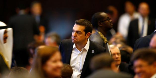 Der griechische Premier Alexis Tsipras in Istanbul