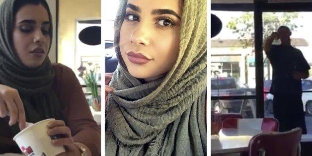Ein Mann beschimpft zwei Kopftuchträgerinnen im Eiscafé – die Reaktion der Bedienung geht jetzt um die Welt