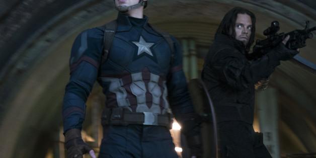 """Captain America (Chris Evans, li. - hier in einer Szene aus """"The First Avenger: Civil War"""") soll schwul werden - das wollen jedenfalls die Fans"""