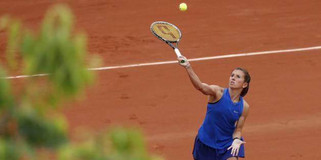 Annika Beck ist in der zweiten Runde der French Open 2016