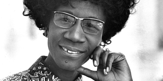 ** FILE ** Congresswoman Shirley Chisholm, D-N.Y., is seen in this 1971 file photo. Chisholm, the first black woman elected to Congress and an outspoken advocate for women and minorities during seven terms in the House, died Saturday, Jan. 1, 2005, a friend said. She was 80.  (AP Photo)
