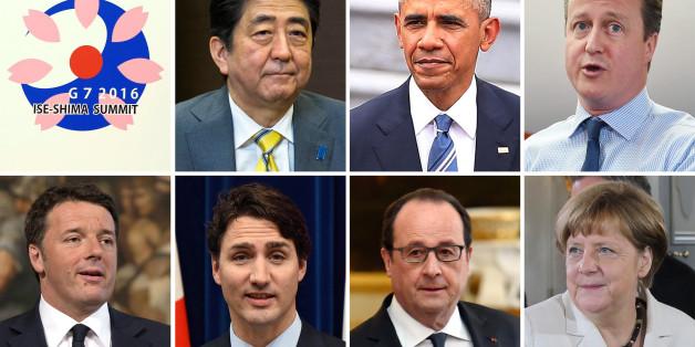 Merkel unter Druck: Auf dem G7-Gipfel muss die Kanzlerin um Solidarität werben