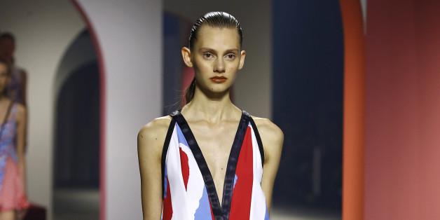 Dieses Kleid präsentierte Kenzo für Frühling und Sommer 2016  - was sie nun für H&M designen, ist noch nicht bekannt