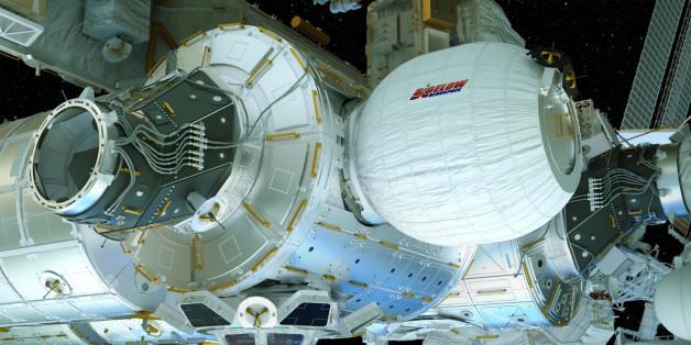L'ISS se dote d'un module gonflable, une première.