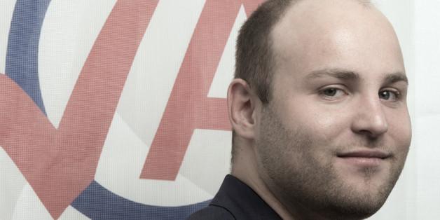 Markus Frohnmaier, Bundesvorsitzender der AfD-Nachwuchsorganisation Junge Alternative (JA)
