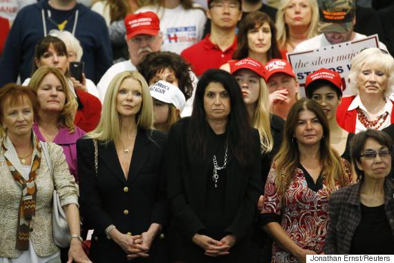 donald trump supporters women