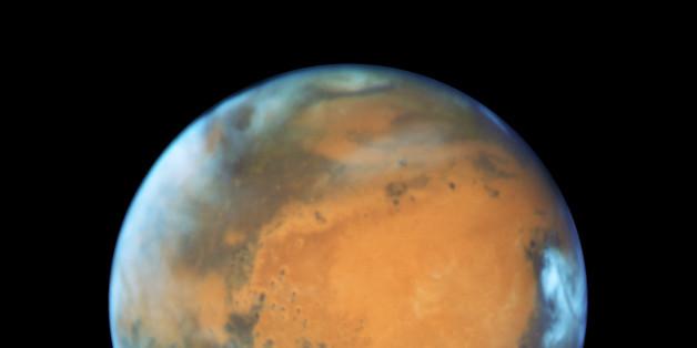 Auf dem Nordpol des Mars wurden Eiszeit-Spuren entdeckt