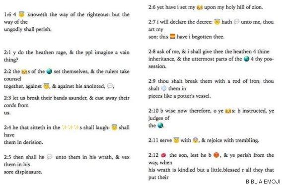 biblia emojis texto