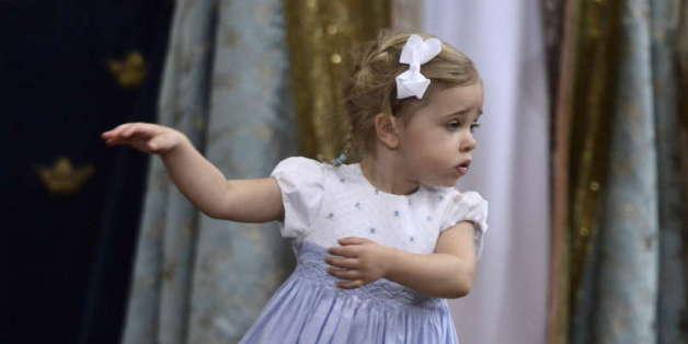 Leonore tanzte bei der Taufe des kleinen schwedischen Prinzen