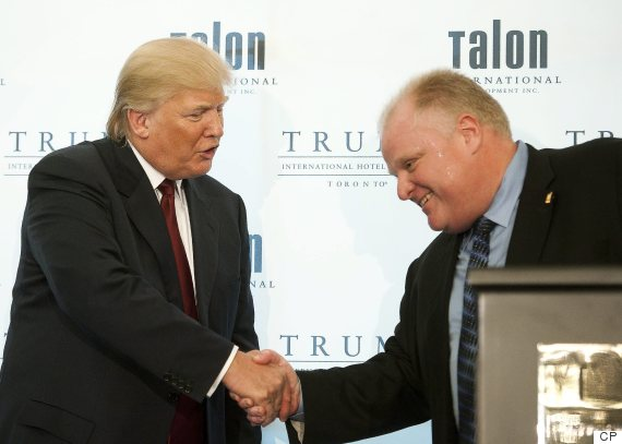 donald trump rob ford