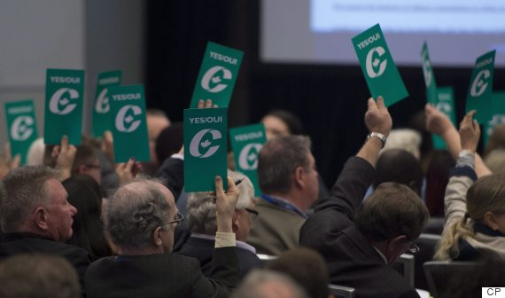 conservative convention vote