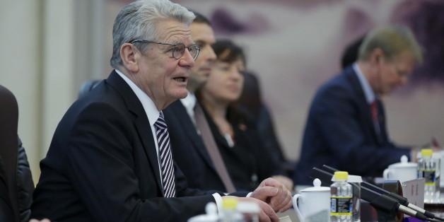 "Bundespräsident Joachim Gauck nennt AfD-Mitglieder ""Dödel"""