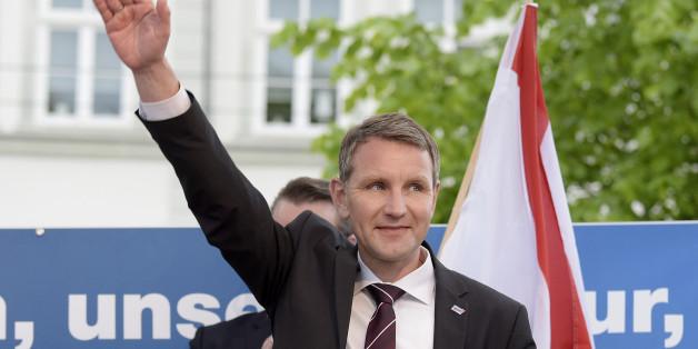"""Der AfD-Vorsitzende der AfD Thüringen, Björn Höcke, sieht in Pegida einen """"Katalysator"""" für den rechten Flügel der AfD"""