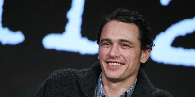 """Actor James Franco participates in the """"11.23.63"""" panel at the Hulu 2016 Winter TCA on Saturday, Jan. 9, 2016, in Pasadena, Calif. (Photo by Richard Shotwell/Invision/AP)"""
