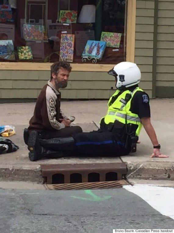 halifax cop panhandler
