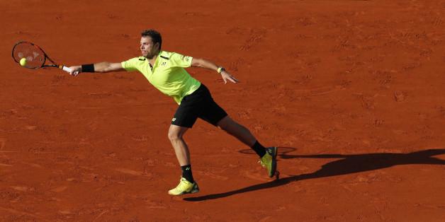 Stan Wawrinka gewann 2015 die French Open. Jetzt steht er im Achtelfinale 2016
