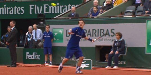 Ce ramasseur de balles se souviendra très longtemps de Roland-Garros 2016 après ses échanges avec Stan Wawrinka