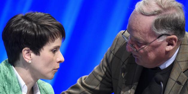 Der Konfikt zwischen AfD-Vize Gauland und Frauke Petry wird immer offensichtlicher