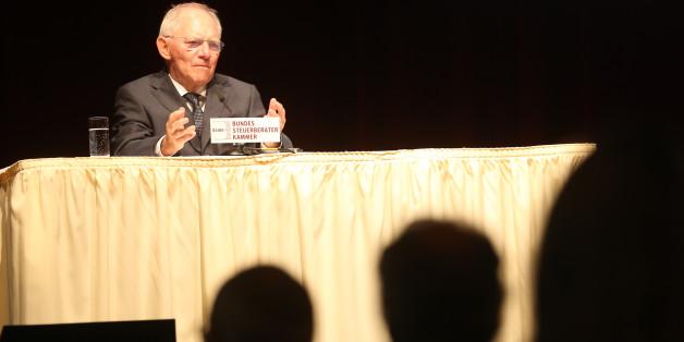 Wolfgang Schäuble steht wegen seiner Ideen für die Griechenlandrettung in der Kritik.
