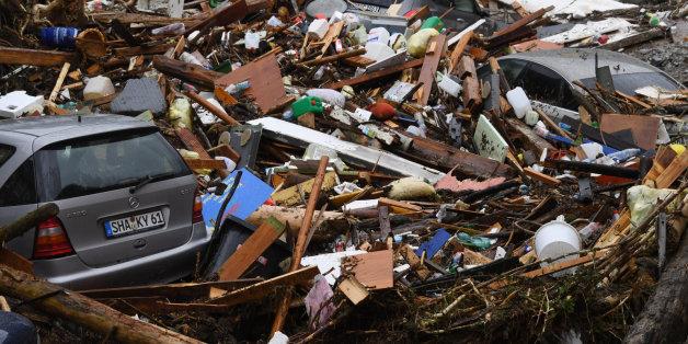 """Tief """"Elvira"""": Diese Bilder zeigen das Ausmaß der Unwetterkatastrophe"""