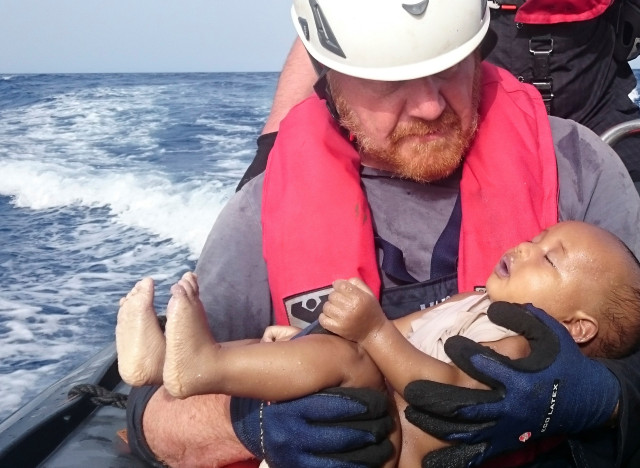 migrant baby drowned