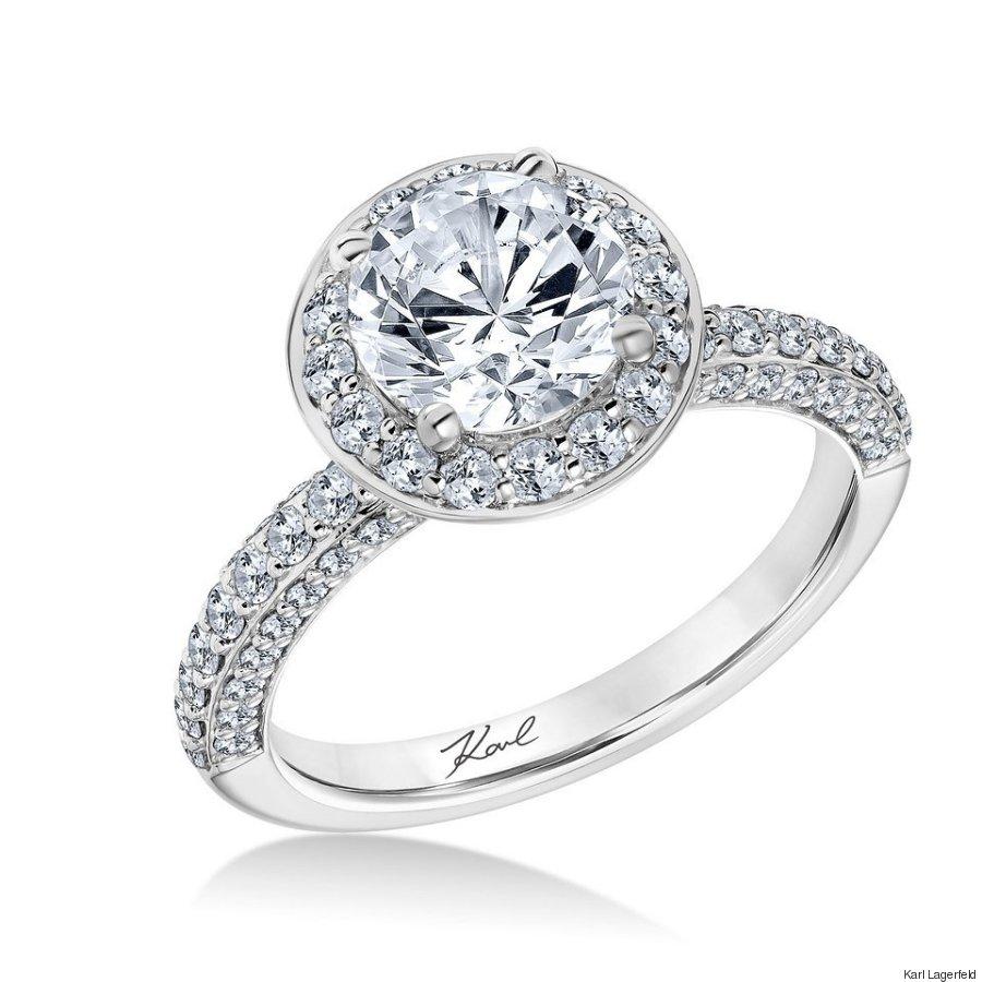 karl lagerfeld engagement ring