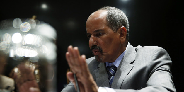 Western Sahara's Polisario Front President Mohamed Abdelaziz answers a question during an interview in Madrid November 14, 2014. REUTERS/Andrea Comas (SPAIN - Tags: POLITICS)
