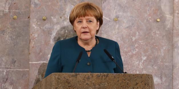 Angela Merkel sagt, sie habe alles richtig gemacht