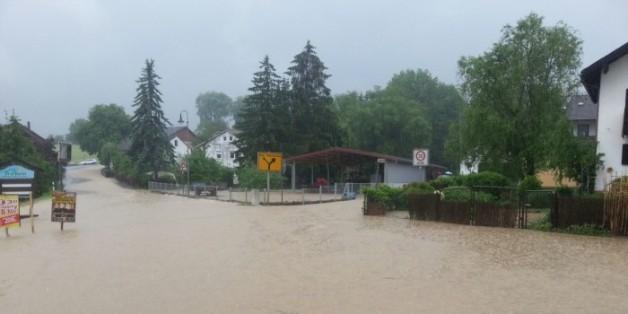 Katastrophenalarm in Günzburg in Bayern (Archivbild)
