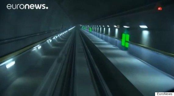 gotthard railway tunnel