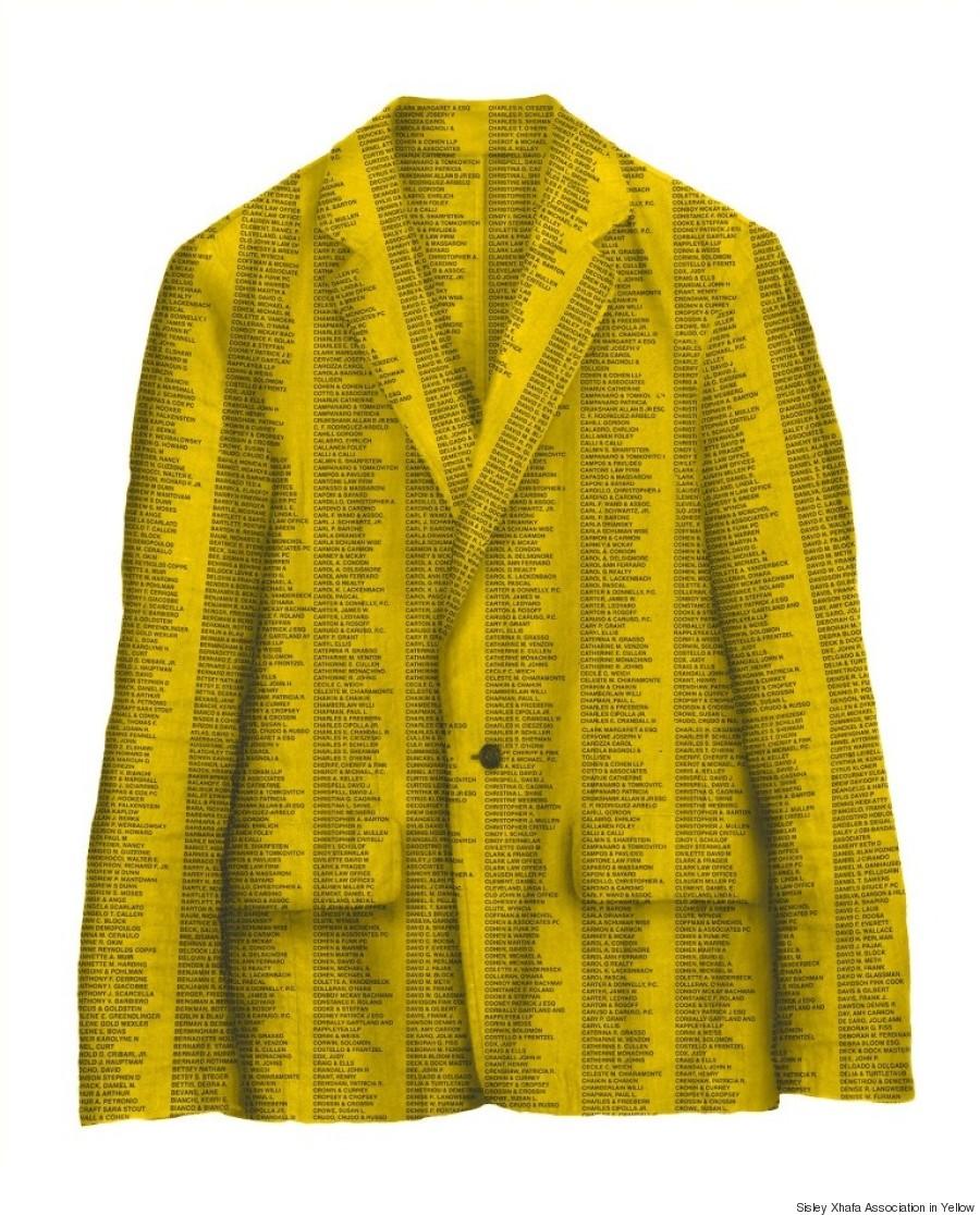 sisley xhafa association in yellow