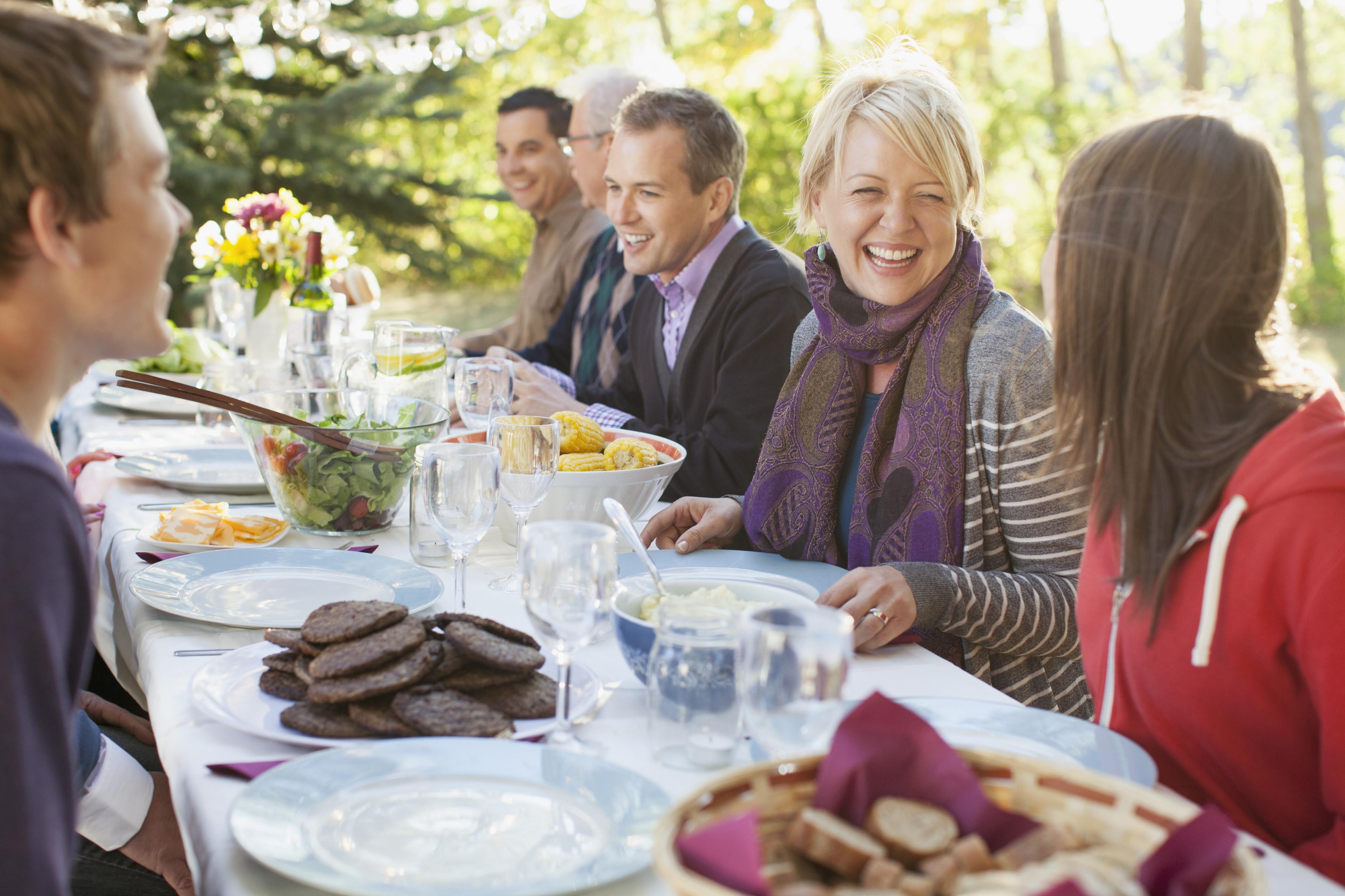 dinner family teen