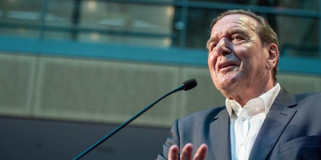 Schluss mit dem Bashing? Altkanzler Gerhard Schröder unterstützt Sigmar Gabriel