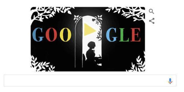 Google ehrt Lotte reiniger mit einem Doodle