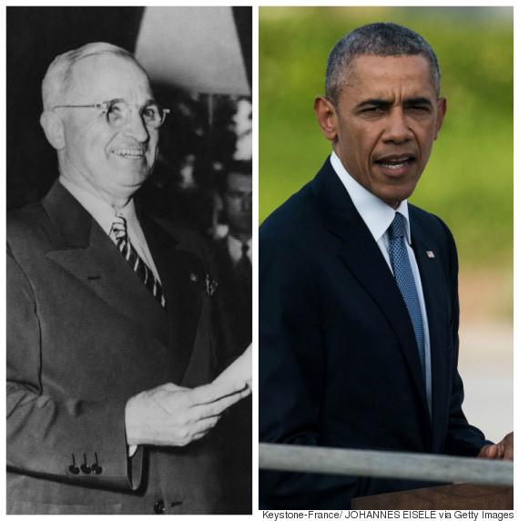 obama and truman