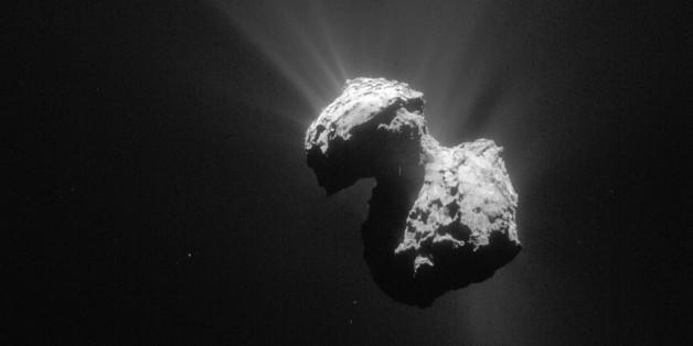 En octobre, la sonde Rosetta détectait de l'oxygène autour de la comète Tchouri.