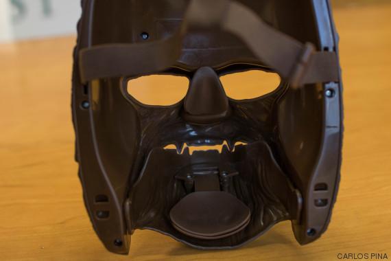 trasera mascara chewbacca