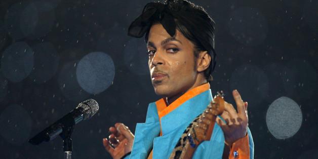 Prince bei einem Auftritt in Miami im Jahr 2007