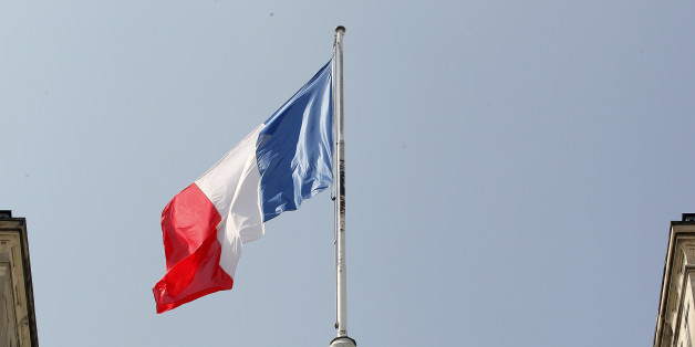 PARIS, FRANCE - MAY 25:  French flag flies on the top of the Elysee Presidential Palace on May 25, 2016 in Paris, France.  The French Government confirms that it tapped into its strategic reserves of petroleum products and said the equivalent of three days of inventory of 115 available had been used until now. the French government is facing a serious crisis following the El Khomri law.  (Photo by Chesnot/Getty Images)