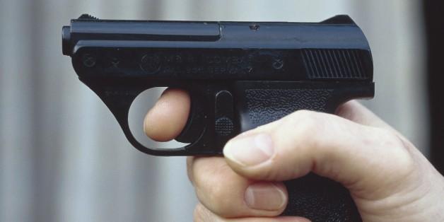 Eine Gaspistole