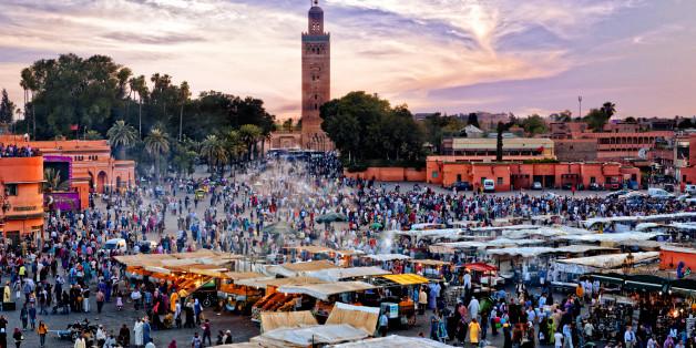 Une production recrée les rues de Marrakech en Inde pour les besoins d'un film