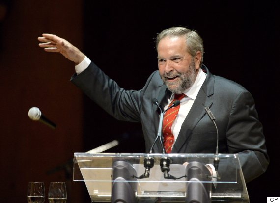 tom mulcair press gallery dinner
