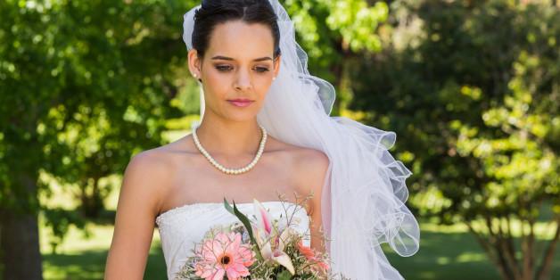 Eine traurige Braut