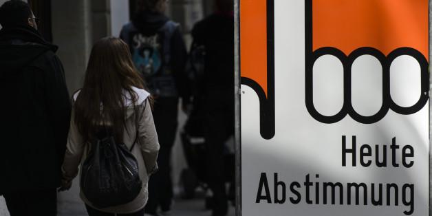 Die Schweizer entschieden sich gegen das bedingungslose Grundeinkommen