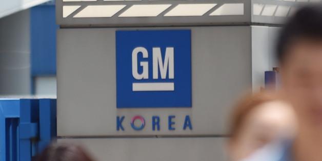 한국지엠 본사의 압수수색이 실시됐던 1일 인천시 부평구 한국지엠 본사 앞 모습