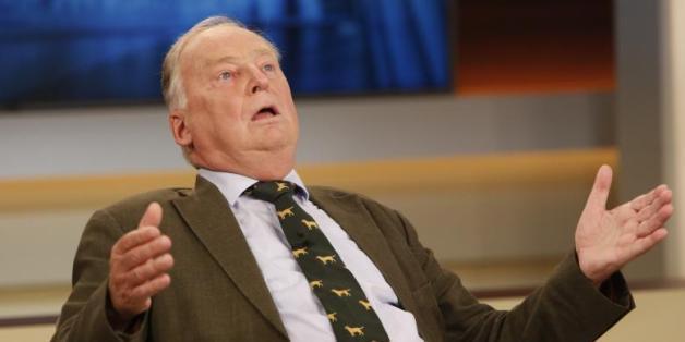 """Der AfD-Vize Alexander Gauland bei """"Anne Will"""""""