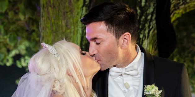 Hochzeitskuss: Daniela Katzenberger und Lucas Cordalis im Eheglück