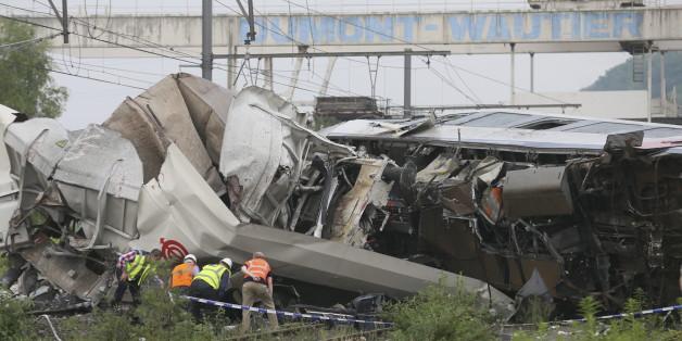 Ein Bild vom Unfallort