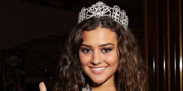 MIAMI BEACH, FL - FEBRUARY 03:  Miss Pennsylvania's Outstanding Teen 2010 Elena LaQuatra attends the Allstate 'X the TXT' Event at the Jordin Sparks Experience at The Eden Roc Renaissance Hotel on February 3, 2010 in Miami Beach, Florida.  (Photo by John Parra/Getty Images for Allstate)