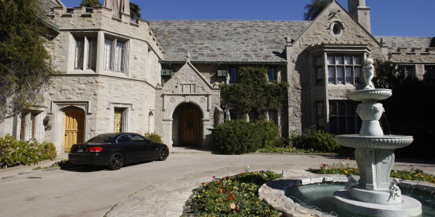 A view of the Playboy Mansion in Los Angeles, California, U.S. February 10, 2011.   REUTERS/Fred Prouser/File Photo